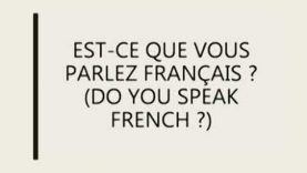 French Language Course (9414) | Lesson 03